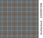 tartan traditional checkered... | Shutterstock .eps vector #1040587348