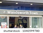 london  march  2018  wandsworth ... | Shutterstock . vector #1040599780