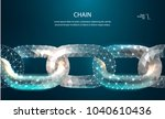 chain. blockchain link sign low ... | Shutterstock .eps vector #1040610436