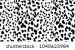 leopard pattern texture... | Shutterstock .eps vector #1040623984