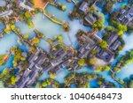 zhejiang hangzhou xixi wetland... | Shutterstock . vector #1040648473