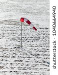 Small photo of aerial view over the windsock