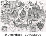 pencil hand drawn illustration... | Shutterstock . vector #104066903