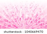 magic shining hearts background ... | Shutterstock .eps vector #1040669470
