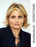 Small photo of Italy - Milan march 7,2018 - Isabella Ferrari italian actress posed