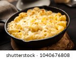 mac and cheese | Shutterstock . vector #1040676808