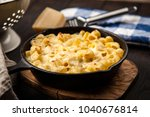 mac and cheese | Shutterstock . vector #1040676814