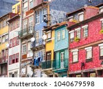 colorful architecture in the... | Shutterstock . vector #1040679598