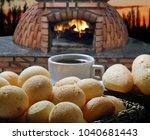 pao de queijo mineiro  ... | Shutterstock . vector #1040681443