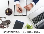 law  advice and legal services... | Shutterstock . vector #1040681569