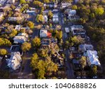 aerial top down view of... | Shutterstock . vector #1040688826