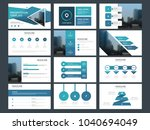 blue triangle bundle...   Shutterstock .eps vector #1040694049