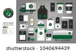 corporate identity template set ... | Shutterstock .eps vector #1040694439