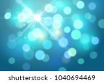 vector abstract bright blue... | Shutterstock .eps vector #1040694469