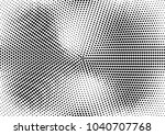 abstract halftone dotted grunge ... | Shutterstock .eps vector #1040707768