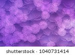 light purple vector natural... | Shutterstock .eps vector #1040731414