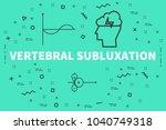 conceptual business... | Shutterstock . vector #1040749318