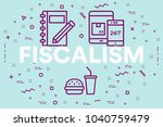 conceptual business... | Shutterstock . vector #1040759479