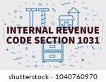conceptual business... | Shutterstock . vector #1040760970