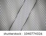 seamless wavy texture... | Shutterstock . vector #1040774326