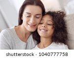 i treasure you. pretty happy... | Shutterstock . vector #1040777758