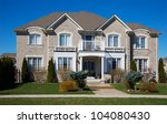 a really expensive home in... | Shutterstock . vector #104080430