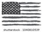 grunge usa flag.vector flag of... | Shutterstock .eps vector #1040810539