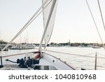sailing in annapolis  maryland | Shutterstock . vector #1040810968