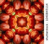 Tomatoes.kaleidoscope Seamless...