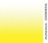 gradient halftone dots... | Shutterstock .eps vector #1040848546
