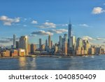 day view of manhattan from... | Shutterstock . vector #1040850409