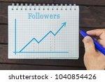 business  finance  investment ... | Shutterstock . vector #1040854426