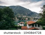 view como lake in italy | Shutterstock . vector #1040864728