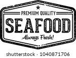 Vintage Seafood Restaurant Menu ...