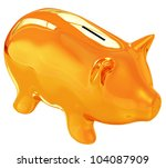 piggy bank | Shutterstock . vector #104087909