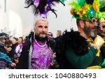 nerja  spain   february 11 ...   Shutterstock . vector #1040880493
