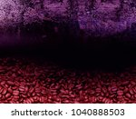 coffee beans background with... | Shutterstock . vector #1040888503