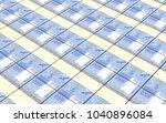 kyrgyzstani som bills stacks... | Shutterstock . vector #1040896084