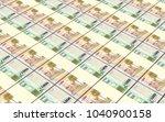 uruguay peso bills stacks... | Shutterstock . vector #1040900158