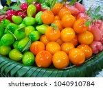 deletable imitation fruits ... | Shutterstock . vector #1040910784