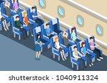 isometric 3d vector...   Shutterstock .eps vector #1040911324