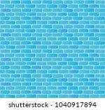 antique brick wall. seamless... | Shutterstock .eps vector #1040917894