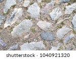 seamless texture of a paving...   Shutterstock . vector #1040921320