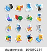 icons for technology and... | Shutterstock .eps vector #104092154