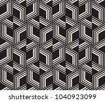 vector seamless pattern. modern ...   Shutterstock .eps vector #1040923099