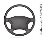 3d render of steering wheel...   Shutterstock . vector #104092439