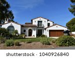 american dream houses and... | Shutterstock . vector #1040926840