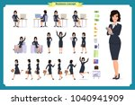 ready to use character set.... | Shutterstock .eps vector #1040941909