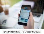 chiang mai  thailand   mar 07 ... | Shutterstock . vector #1040950438