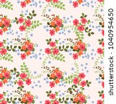 seamless gorgeous pattern in... | Shutterstock . vector #1040954650